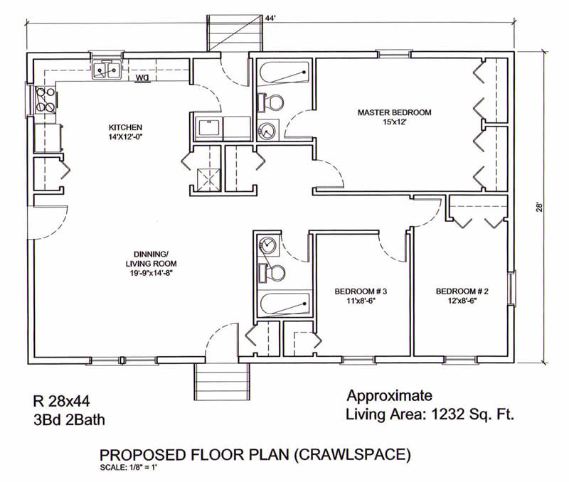 Mannorwood Homes SB307A Georgetown also Deerfield besides 350 house plans in addition The Mallory 2 Contemporary 1003084 likewise 45 3 Bedroom Plb120. on two bedroom 2 bath house plans