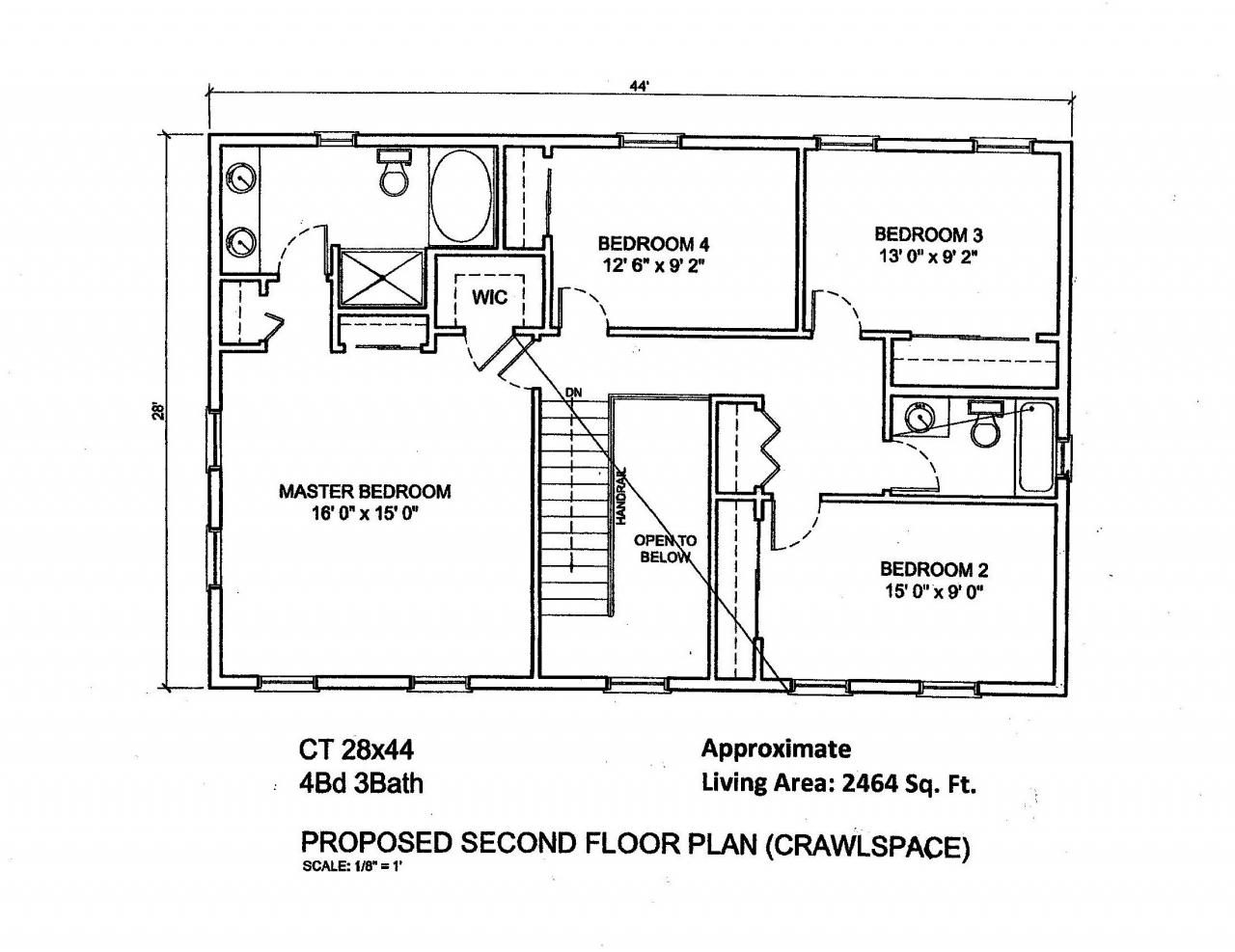 100 Colonial Style Homes Floor Plans Gorgeous